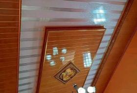 Harga borongan Jasa Pasang plafon PVC Per meter Dan Per Dus